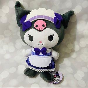 BNWT Kuromi Maid Plushie